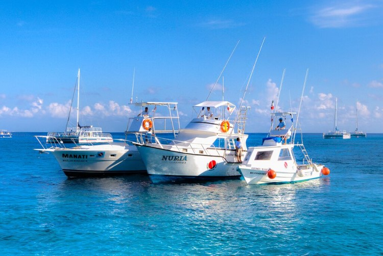 Cozumel Marines Worlds Dive Boats, the Manati, Nuria and Bubbles