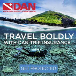 Sign Up For DAN Travel Insurance